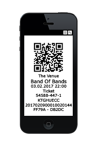 image smartphone ticket